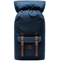 Herschel Little America INDIGO DENIM CROSSHATCH
