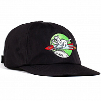 RIPNDIP ROCKET MAN STRAPBACK BLACK