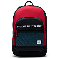 Herschel KAINE BLACK/RED/BACHELOR BUTTON