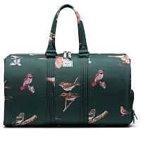 Herschel Novel DARK GREEN BIRDS