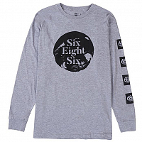 686 SEAL L/S HEATHER GREY