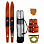 Jobe ALLEGRE 67 COMBO SKIS PACKAGE RED