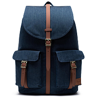 Herschel STUDIO DAWSON X-LARGE INDIGO DENIM CROSSHATCH