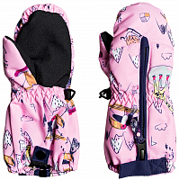 Roxy SNOW'S UP MITT K MTTN PRISM PINK SNOW TRIP