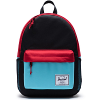 Herschel CLASSIC X-LARGE BLACK/RED/BACHELOR BUTTON