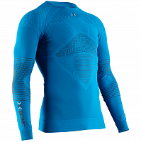 X-Bionic ENERGIZER 4.0 SHIRT ROUND NECK LG SL MEN TEAL BLUE/ANTHRACITE