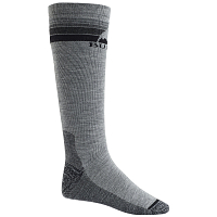 Burton M EMBLEM MDWT SK GRAY HEATHER