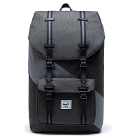 Herschel Little America BLACK CROSSHATCH/QUIET SHADE/PERISCOPE