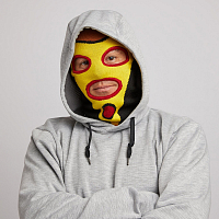 Airblaster TRINITY FACEMASK PIZZA