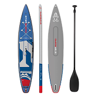 Starboard TOURING DELUXE DC + ТРАЕКТОРИЯ FIBERGLASS PRO 0