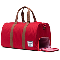 Herschel Novel RED/SADDLE BROWN