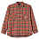 POLAR SKATE CO Flannel Shirt ORANGE