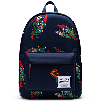 Herschel CLASSIC X-LARGE SLASHER/PEACOAT/TRUE RED