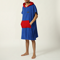 Траектория SLEEVELESS NAVY/RED