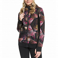 Roxy FROST PRINTED J OTLR TRUE BLACK NIGHT PALM