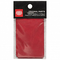 686 FABRIC REPAIR PATCH RED