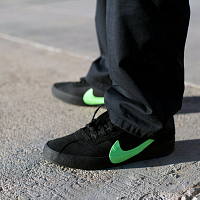 Nike SB ZOOM BRUIN QS BLACK/VOLTAGE GREEN-WHITE