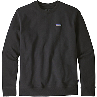 Patagonia M'S P-6 LABEL UPRISAL CREW SWEATSHI BLACK