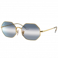 Ray Ban Octagon ARISTA/CLEAR GRADIENT BLUE
