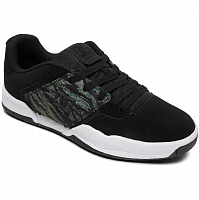 DC CENTRAL M SHOE BLACK/CAMO