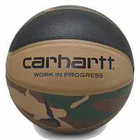 Carhartt WIP Spalding X Carhartt WIP Valiant 4 Basketball CAMO LAUREL, BLACK, AIR FORCE GREY, LEATHER