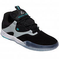 DC KALIS SE M SHOE BLACK/GREEN/GREY