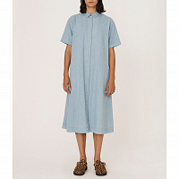 YMC Joan Dress LIGHT INDIGO