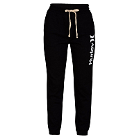 Hurley W O&O FLEECE JOGGER BLACK/WHITE