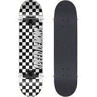 SPEED DEMONS Checkers Complete BLACK/WHITE