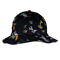 RIPNDIP SCUBA NERM BUCKET HAT BLACK