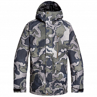 Quiksilver MISSION PRIN JK M SNJT BLACK SIR EDWARDS