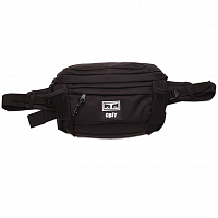 OBEY CONDITIONS WAIST BAG III BLACK