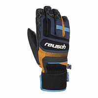 REUSCH STUART R-TEX XT DRESS BLUE/ORANGE POPSICLE