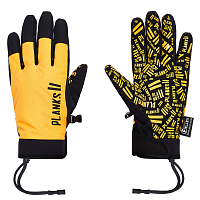 Planks HIGH TIMES PIPE GLOVE SUNSET YELLOW