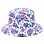 69slam BOB BUCKET HAT SKULLMOND WHITE