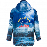 PAUL AND SHARK TYPHOON 2000 PRINTED JACKET PATTERNED