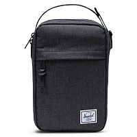 Herschel CHAPTER CONNECT Black Crosshatch