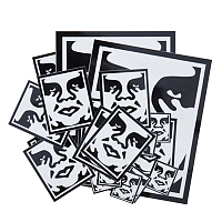 OBEY STICKER PACK 2-ICON FACE ASSORTED
