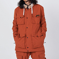 Planks Planks X Woodsy 'yeah Baby' Jacket BURNT ORANGE