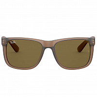 Ray Ban JUSTIN RUBBER TRANSPARENT LIGHT BROWN/DARK BROWN