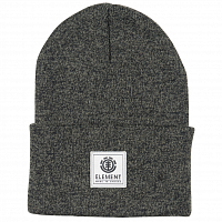 Element DUSK II BEANIE A ASPHALT HEATHER