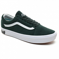 Vans UA COMFYCUSH OLD SKOOL (Distort) trekking green/true white