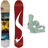 Never Summer W FREERIDE HALF PACKAGE 2 0