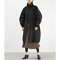 HYKE M-65 Type Coat BLACK