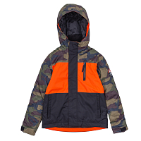 686 BOYS SMARTY INSULATED JACKET DARK CAMO COLORBLOCK