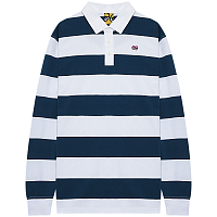 Krooked L/S EYES RUGBY navy/wht