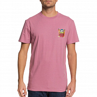 DC STRIKES AGAIN M TEES MAUVE ORCHID