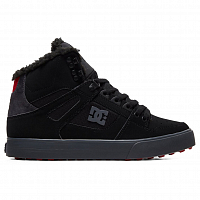DC PURE HT WC WNT M SHOE BLACK/GREY/RED